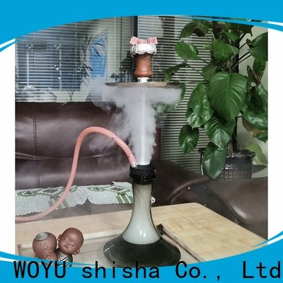 WOYU inexpensive stainless steel shisha factory for pastime