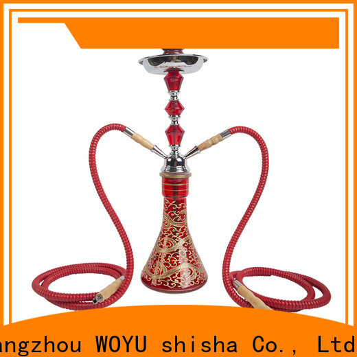 WOYU iron shisha supplier for pastime