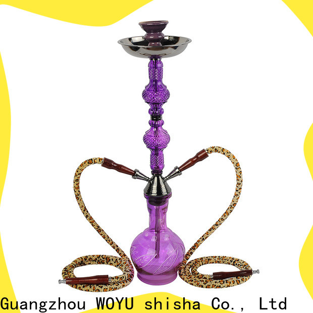WOYU high standard iron shisha manufacturer for pastime