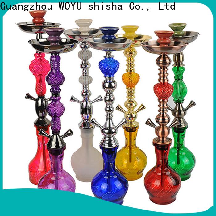 WOYU personalized iron shisha manufacturer for pastime