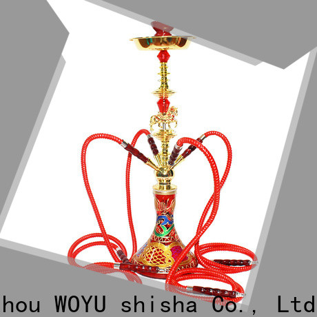 high standard iron shisha factory for smoking