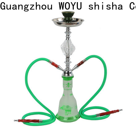 WOYU personalized iron shisha supplier for smoking