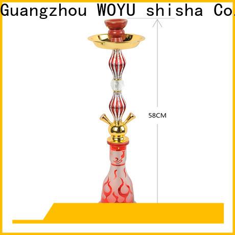 WOYU iron shisha manufacturer for pastime
