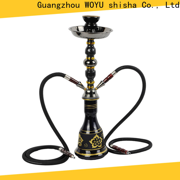 WOYU iron shisha supplier for smoker