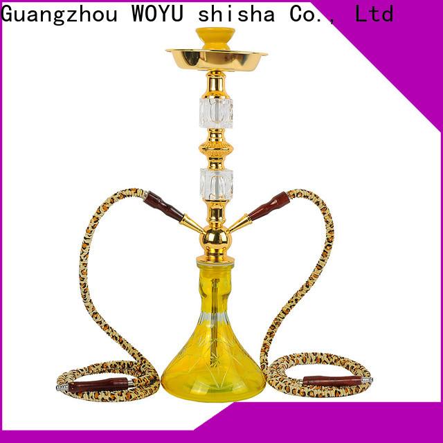 WOYU cheap iron shisha factory for pastime