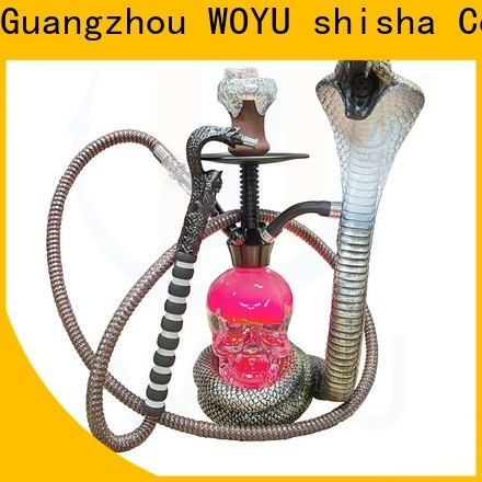 WOYU personalized resin shisha supplier for smoking
