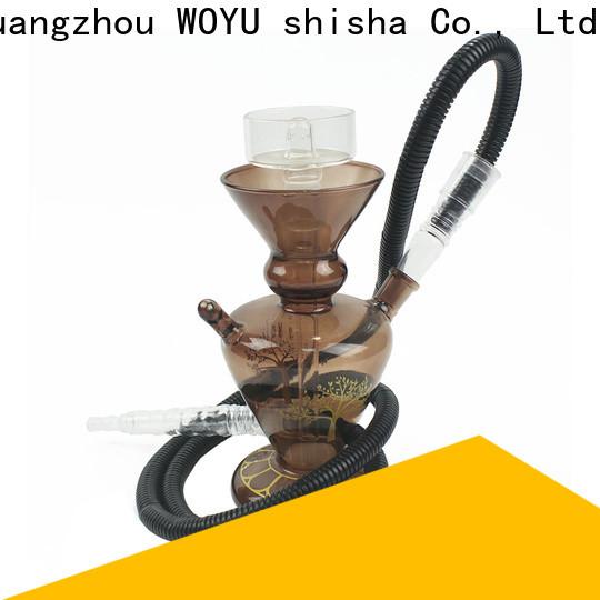 WOYU glass shisha brand for smoking