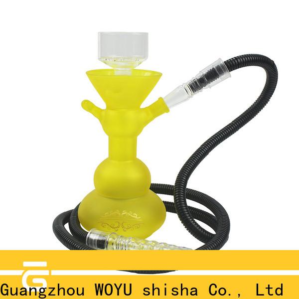 WOYU glass shisha supplier for pastime