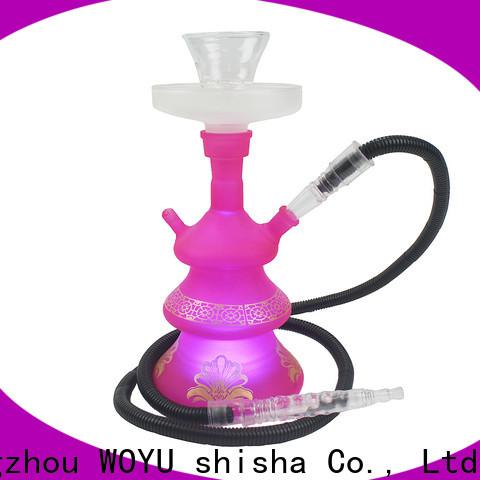 100% quality glass shisha brand for pastime