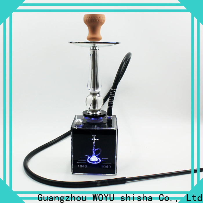 WOYU acrylic shisha from China for smoker