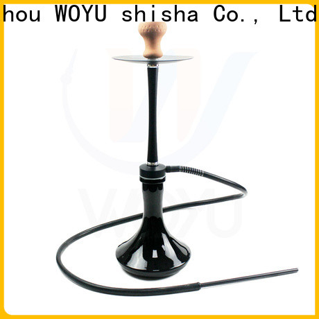 WOYU hot new releases aluminum shisha one-stop services for clubs