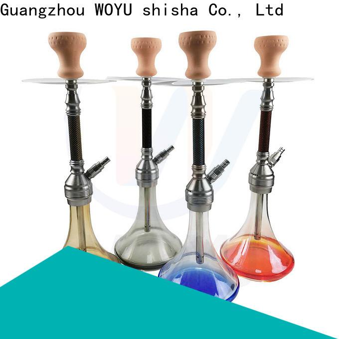 WOYU aluminum shisha from China for clubs
