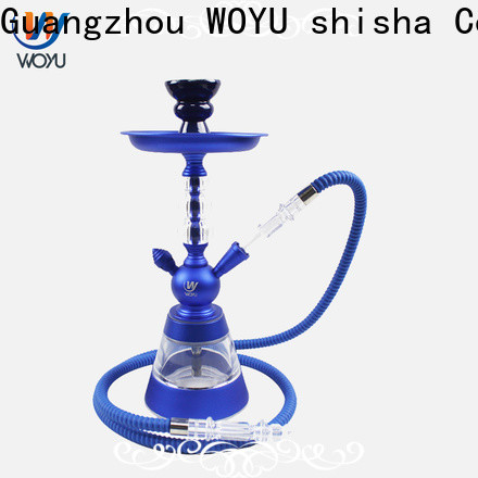WOYU inexpensive aluminum shisha from China for bars