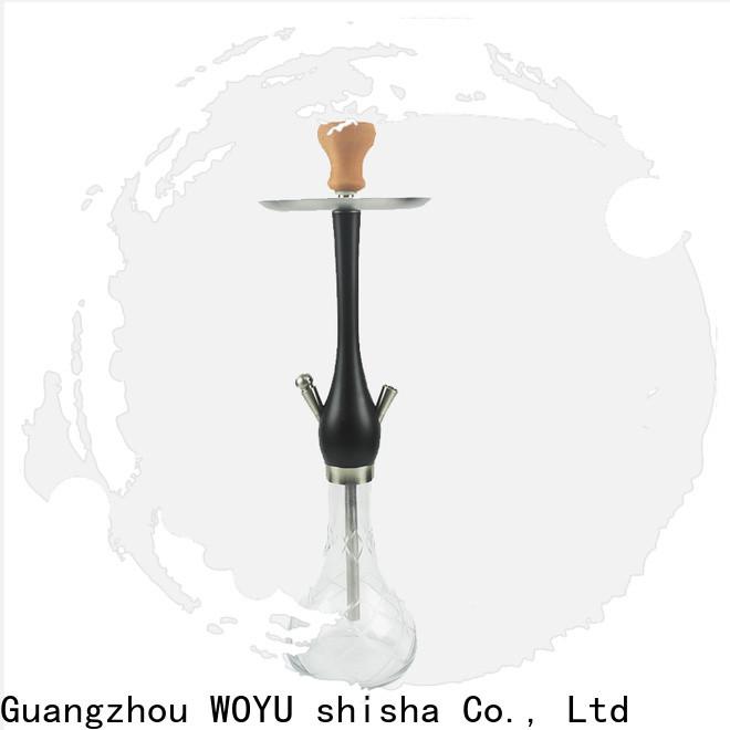 WOYU portable wooden shisha customization for lounge