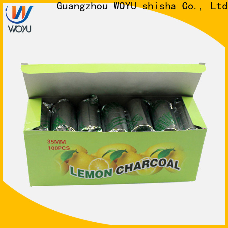 WOYU shisha charcoal factory for smoker