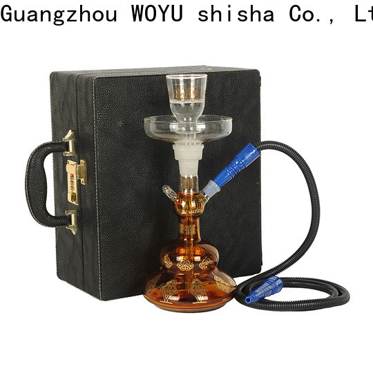 WOYU best-selling glass shisha manufacturer for smoking