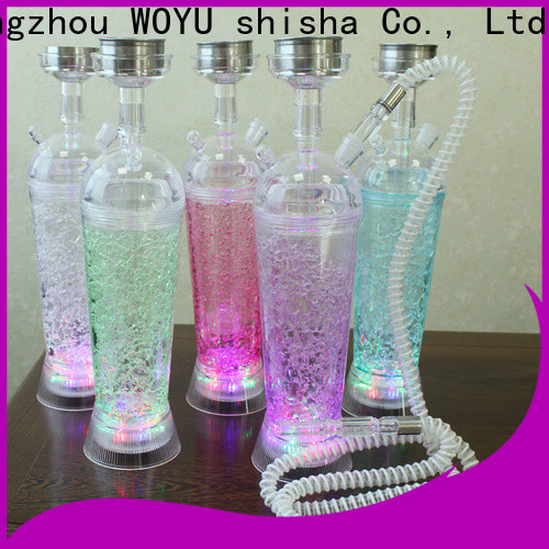WOYU personalized acrylic shisha one-stop services for bars