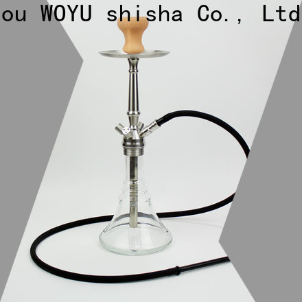 WOYU personalized stainless steel shisha factory for smoker