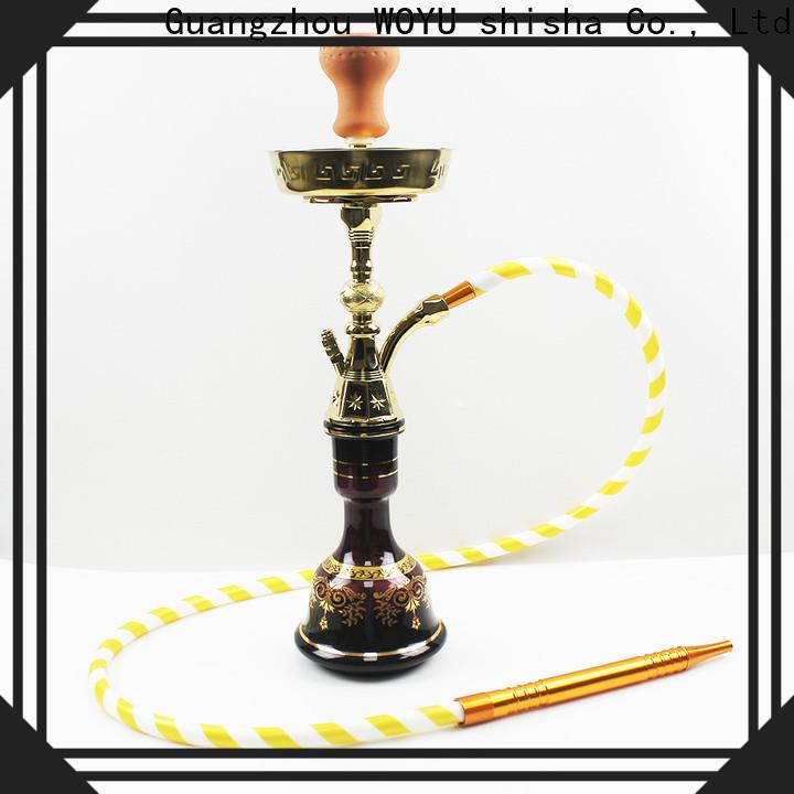 WOYU personalized zinc alloy shisha manufacturer for smoker