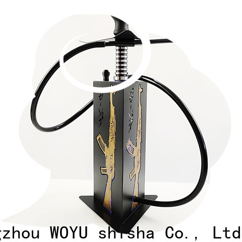 WOYU buy cheap acrylic shisha wholesale for bars