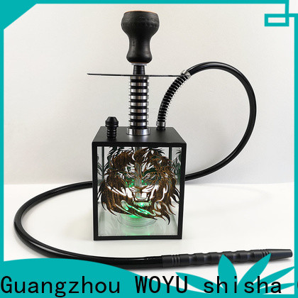 WOYU acrylic shisha wholesale for smoker