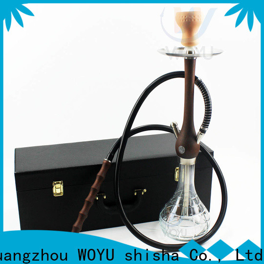 WOYU 100% quality wooden shisha customization for lounge