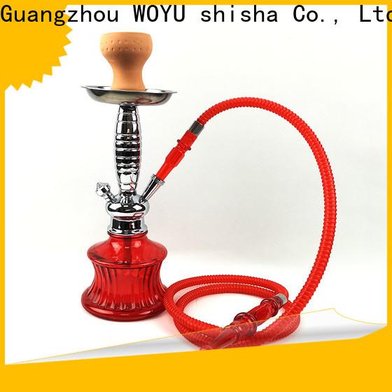 WOYU 100% quality zinc alloy shisha factory for sale