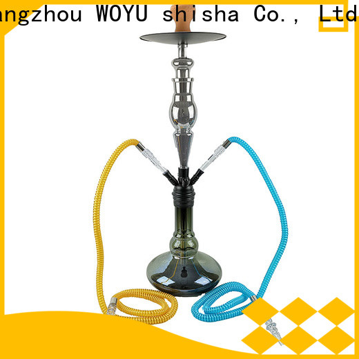 WOYU personalized zinc alloy shisha factory for wholesale