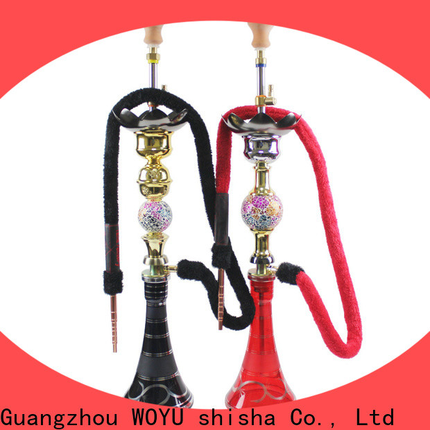 WOYU personalized zinc alloy shisha supplier for wholesale