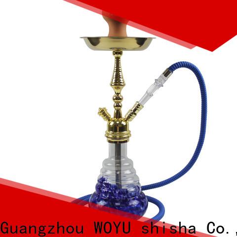 WOYU 100% quality zinc alloy shisha supplier for smoker