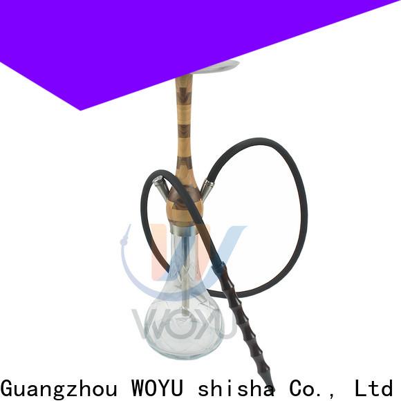 WOYU wooden shisha quick transaction for cafes