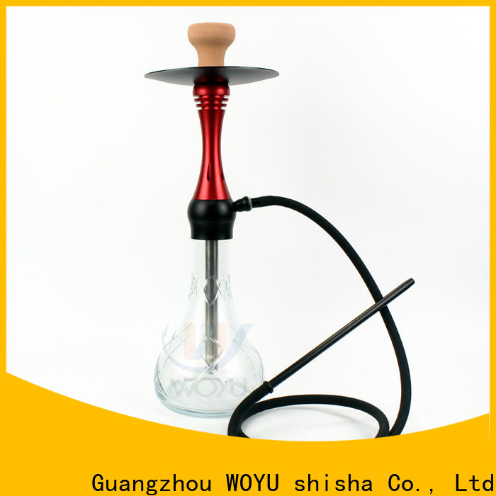 WOYU aluminum shisha one-stop services for clubs