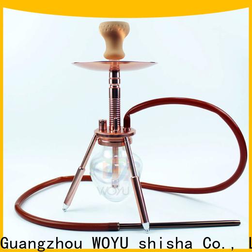 WOYU inexpensive aluminum shisha from China for wholesale