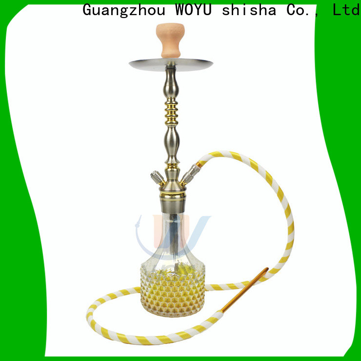 WOYU hot new releases aluminum shisha one-stop services for party
