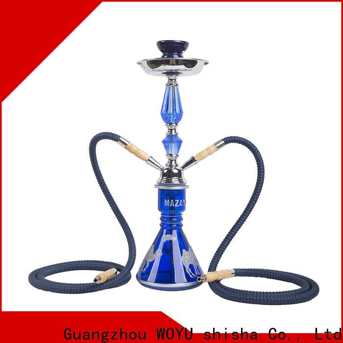 WOYU personalized iron shisha manufacturer for smoking