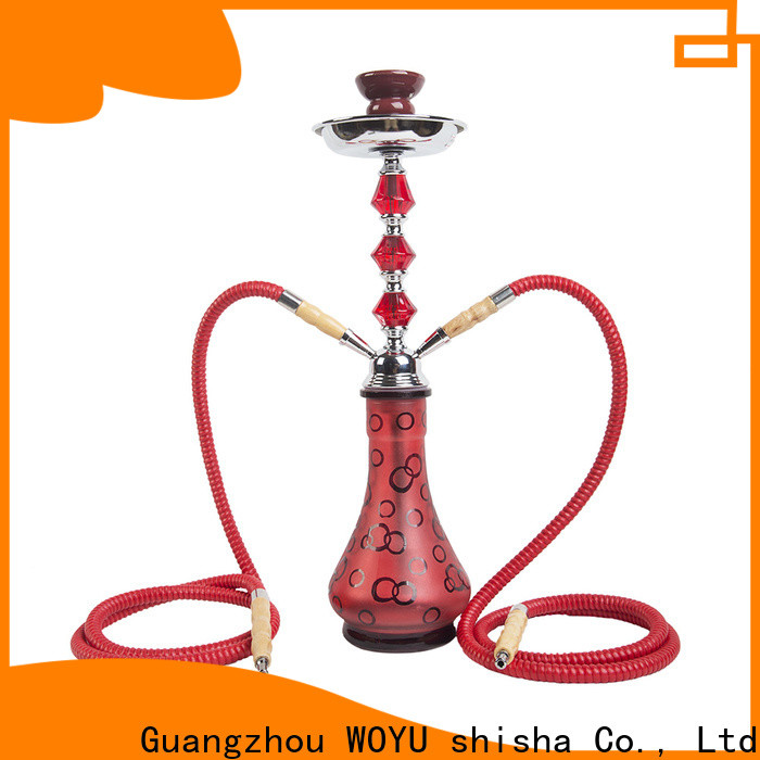 WOYU iron shisha factory for pastime
