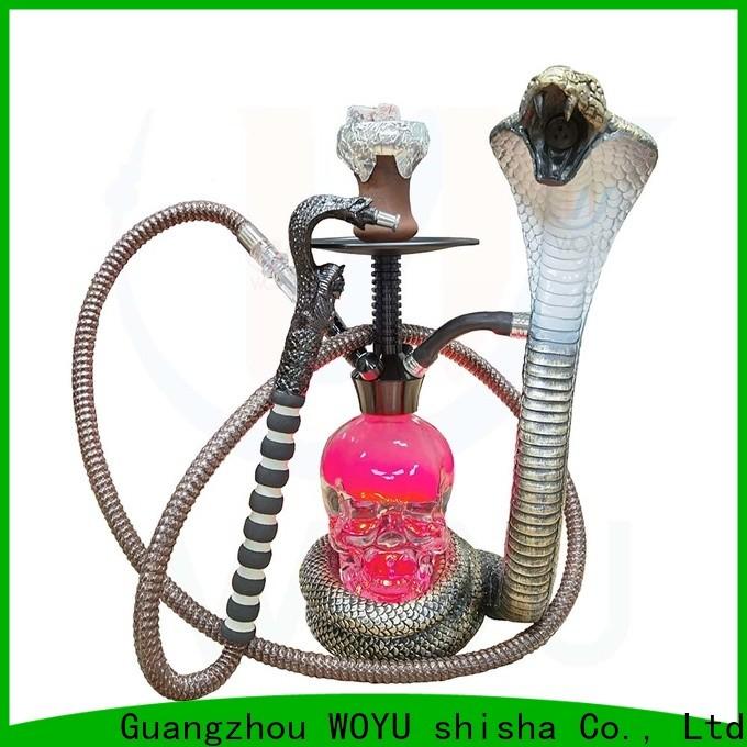 WOYU famous resin shisha brand for smoking