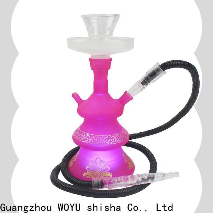 WOYU 100% quality glass shisha brand for pastime
