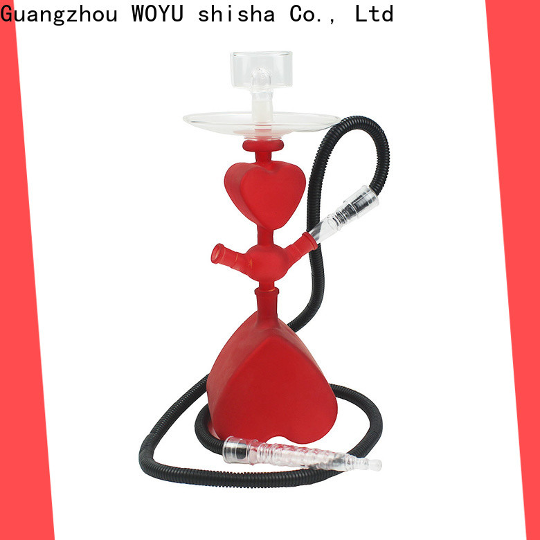 WOYU 100% quality glass shisha manufacturer for pastime