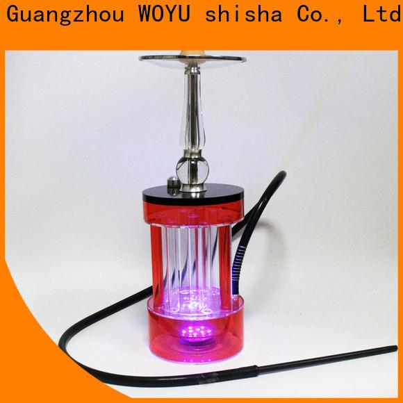 WOYU buy cheap acrylic shisha wholesale for pastime