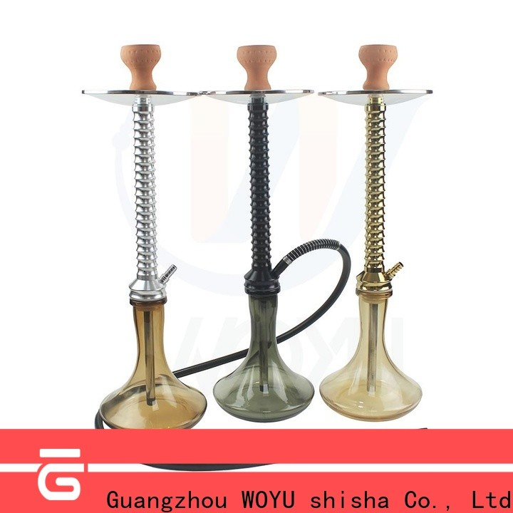hot new releases aluminum shisha from China for party
