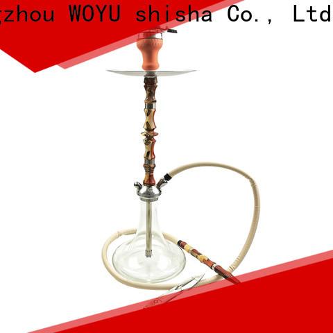 WOYU inexpensive wooden shisha customization for lounge