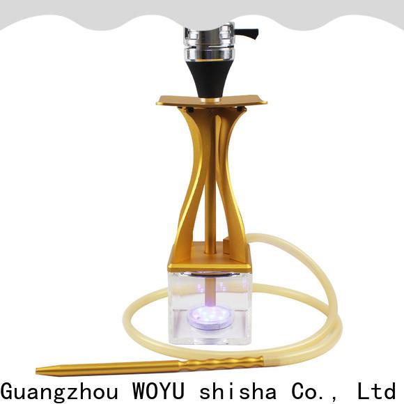 WOYU buy cheap acrylic shisha from China for clubs