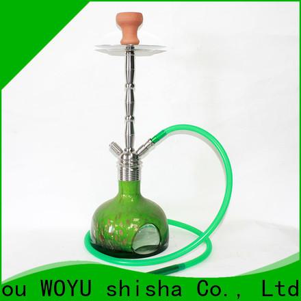 WOYU professional stainless steel shisha factory for smoker
