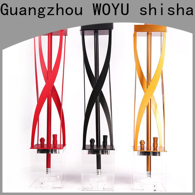 WOYU personalized acrylic shisha from China for smoking