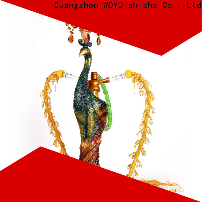 WOYU personalized resin shisha manufacturer for smoking