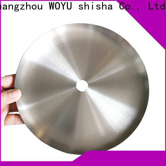 WOYU inexpensive shisha plate factory for smoker