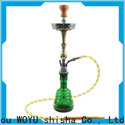 WOYU personalized zinc alloy shisha manufacturer for sale