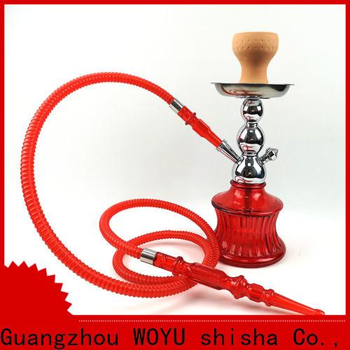 WOYU best-selling zinc alloy shisha manufacturer for trader