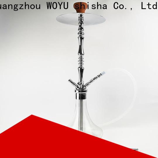 WOYU zinc alloy shisha manufacturer for importer